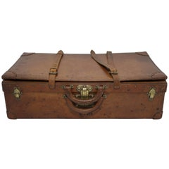 Antique Louis Vuitton Leather Expandable Case 1 of 100 Legendary Trunks