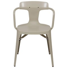T14 Chair in Warm Grey by Patrick Norguet & Tolix