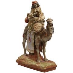 Amphora Figure with a Tambourine, Riessner, Stellmacher & Kessel
