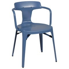 T14 Chair in Provence Blue by Patrick Norguet and Tolix