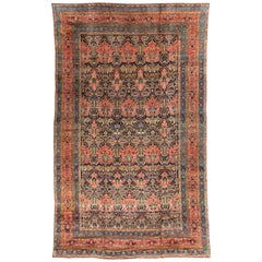 Antique Persian Bakhtiari Rug, circa 1890