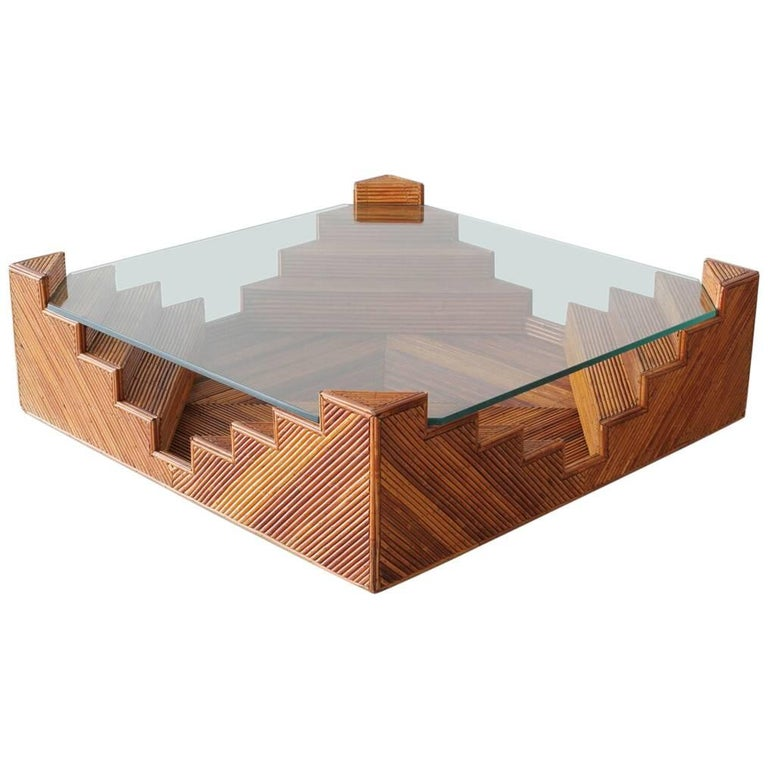 Crespi Style Coffee Table For Sale