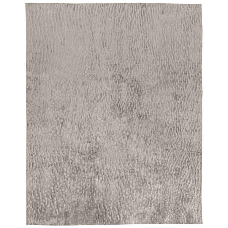 Sand Dunes in Grey Silk