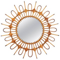 Mid-Century Modern Sunburst Mirrors