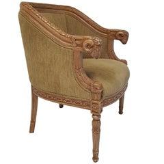 Rams Head Bergere Chair