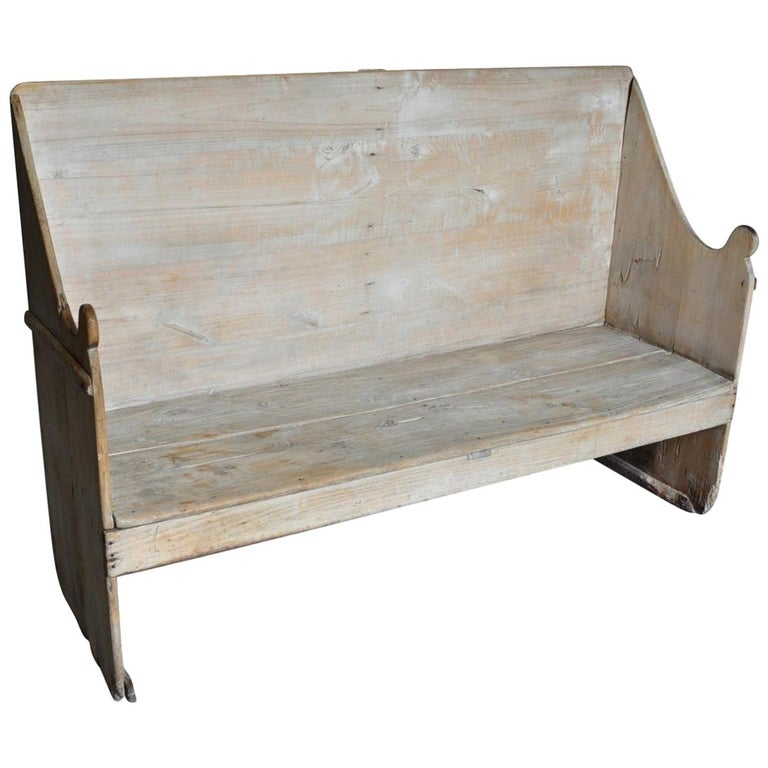 Catalan Primitive 18th Century Bench