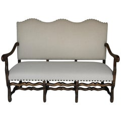 French Mutton Leg Settee