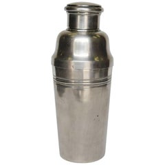 Silver Plate Art Deco Cocktail Shaker