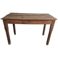 19th Century Cedar Plank Table from Mexico
