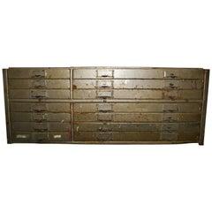 Industrial 14-Drawer Metal File Tool Cabinet