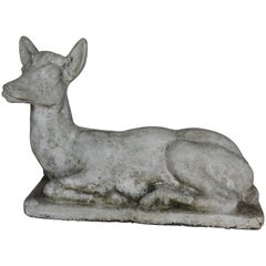 Concrete Garden Doe Found in Belgium