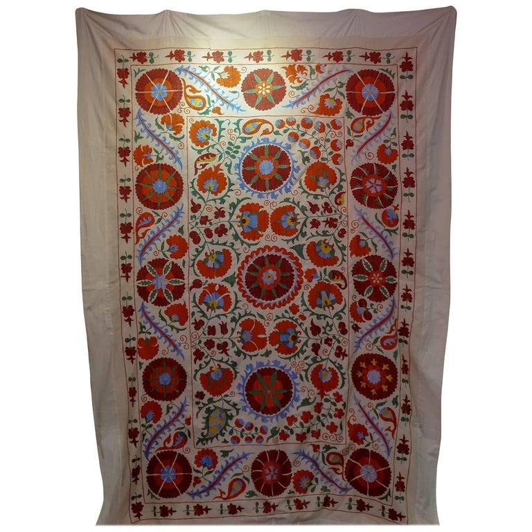 Beautiful Handwoven Traditional Suzani from Uzbekistan