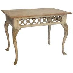 Exceptional Rococo Fretwork Tray or Centre Table, circa 1760, Origin Norway