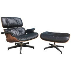 Gorgeous Eames Lounge and Ottoman for Herman Miller