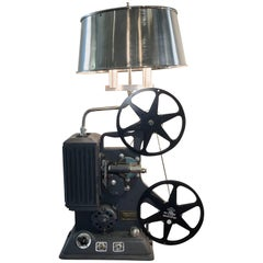 Working 1939 Keystone Model R-8 8mm Projector Lamp