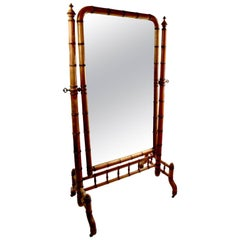 Victorian Floor Mirrors and Full-Length Mirrors - 25 For Sale at 1stdibs