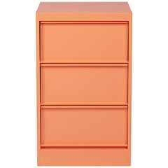 CC3 Industrial Cabinet in Flamingo Pink by Xavier Pauchard and Tolix