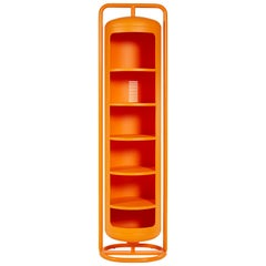 Mono-Cylinder in Orange by Frederick Gaunet & Tolix