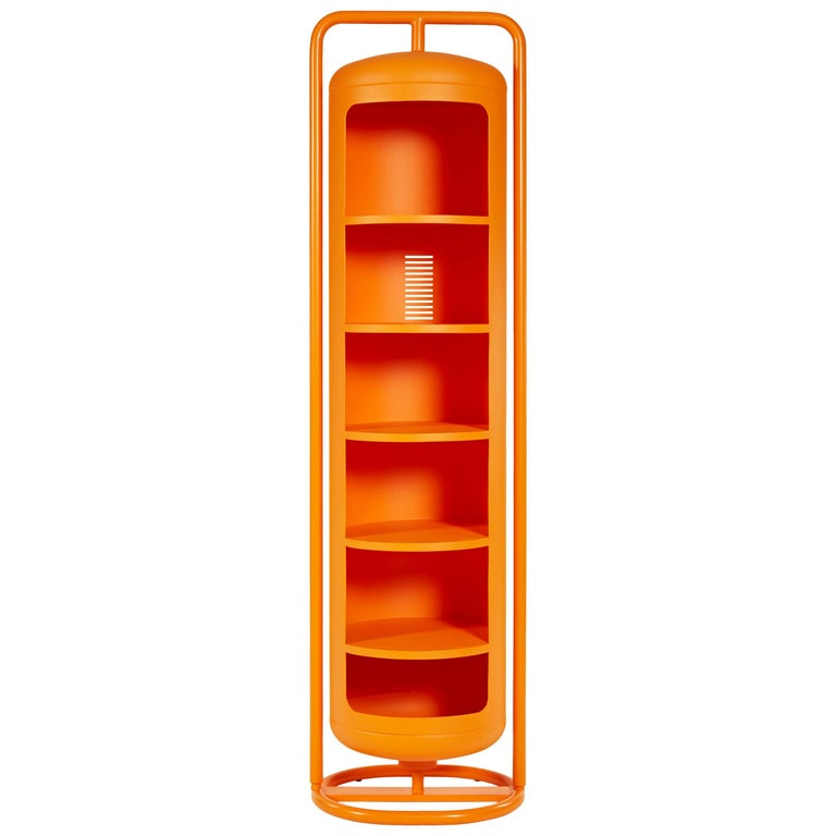 Mono-Cylinder in Orange by Frederick Gaunet and Tolix