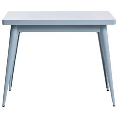 55 Console Table in Azure Blue by Jean Pauchard & Tolix