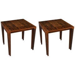 Two Square Coffee Tables, Heltborg