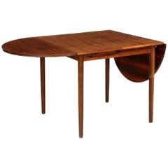 Rosewood Dining Table with Extensions