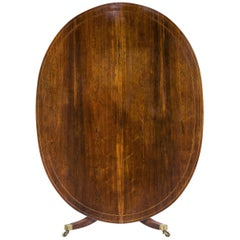 George III Period Oval Dining Table