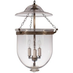 19th Century English Bell Jar Lantern