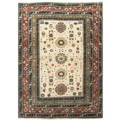 Vintage Caucasian Shirvan Rug