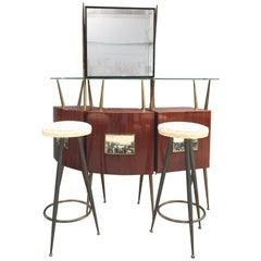 Bar Set Gio Ponti Style