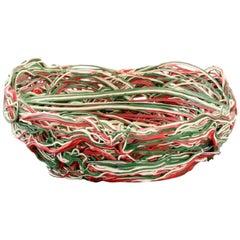 Large Gaetano Pesce Spaghetti Bowl/Basket