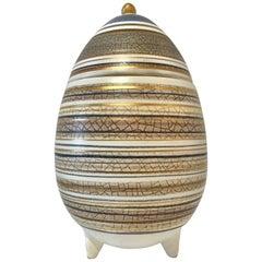 Sascha Brastoff Ceramic Egg