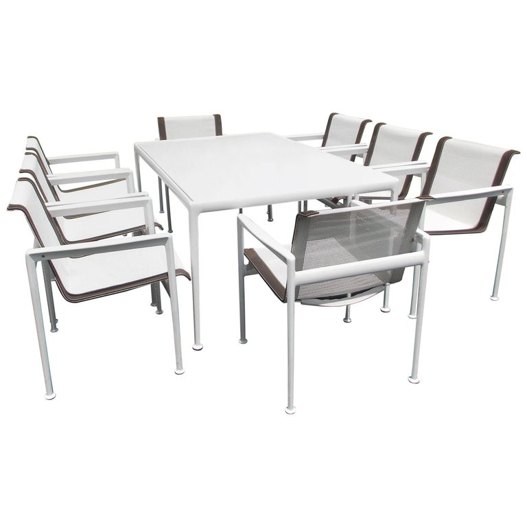 Richard Schultz 1966 Collection Dining Table and Chairs