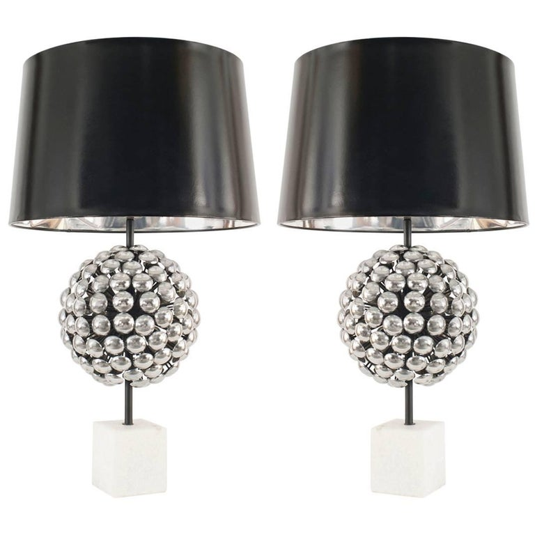 Pair of 1980s Table Lamps