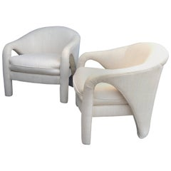 Vladimir Kaganesque Lounge Chairs by Weiman