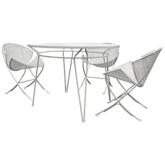 Four-Piece Salterini Patio Set in White