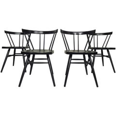 Set of Four Mid-Century Modern McCobb Style Chairs