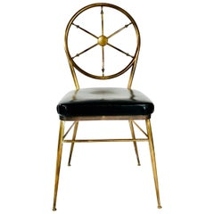 Gio Ponti Style Compass Chair
