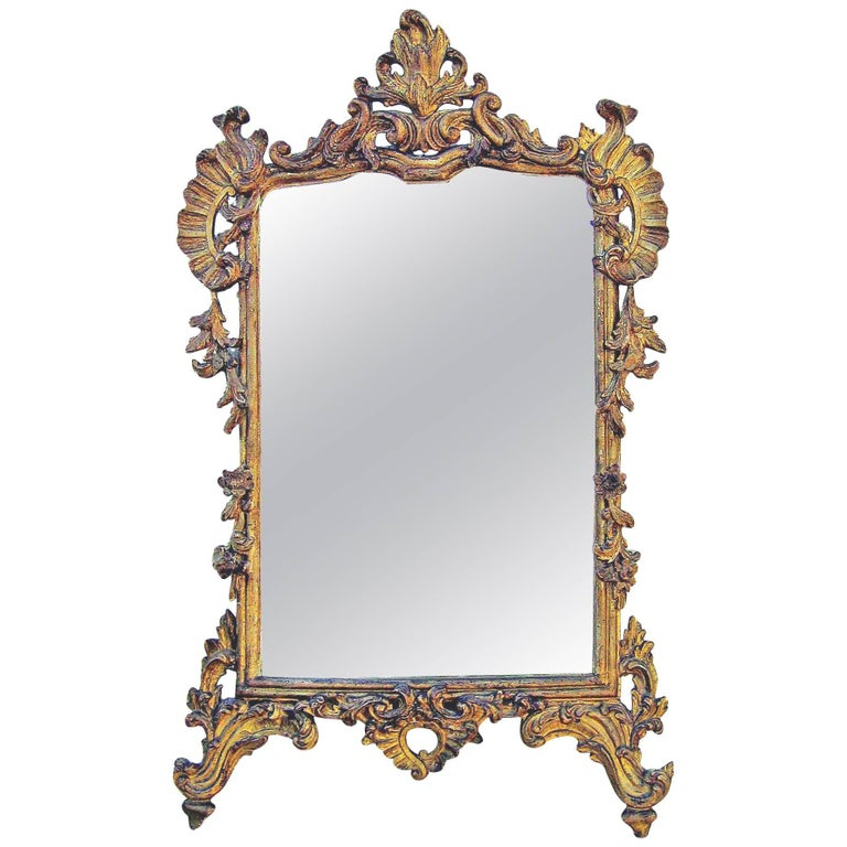 Venetian Giltwood Mirror, circa 1730