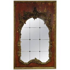 Hollywood Regency Style Mirror