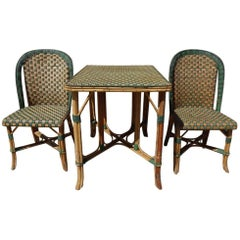 Set of Wickerwork Furniture, Le Rotin