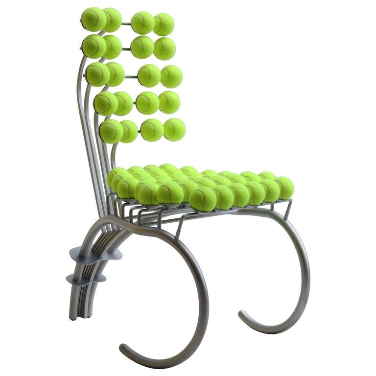 1980s Tennis Chair Wimbledon
