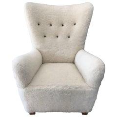 Fritz Hansen High-Back Chair