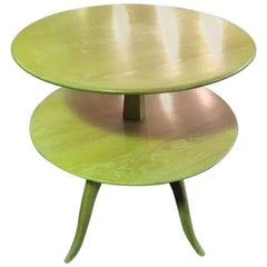 Paul Frankl Tiered Side or Occasional Table for Saltman Brown