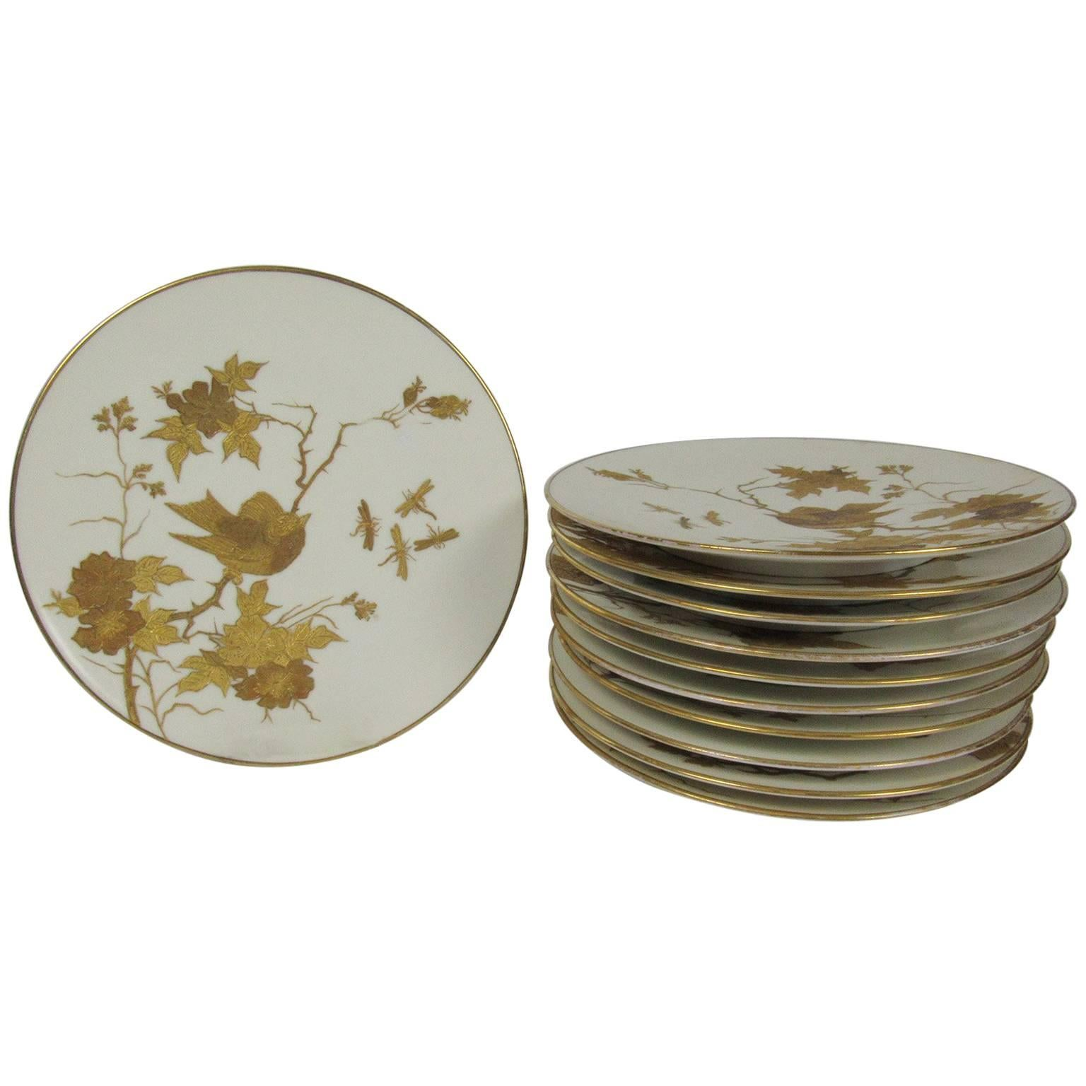 Set of 11 Fischer \u0026&; Meig Pirkenhammer German Plates  sc 1 st  1stDibs & German Dinner Plates - 68 For Sale at 1stdibs