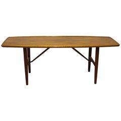 Coffee Table in Walnut Designed by Finn Juhl, 1960s
