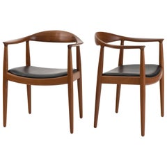 Hans J. Wegner 'The Chair' in Teak for Johannes Hansen