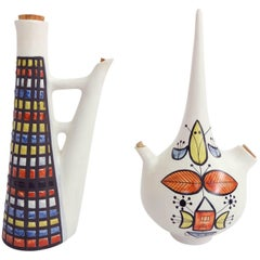 Pair of Roger Capron, Vallauris Ceramic