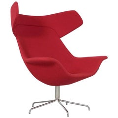 Red Oyster High Chair by Michael Sodeau for Offecct, 2008