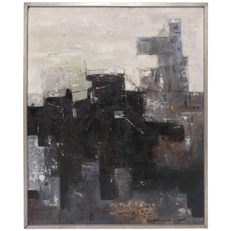Abstract Expressionist Oil Painting by New York Artist Immi Storrs